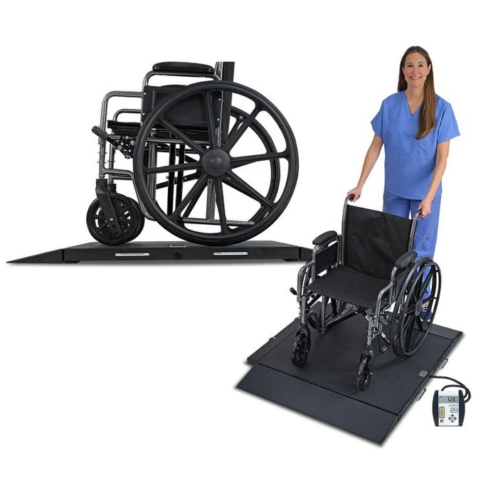 portable wheel chair chairs for elderly assistance detecto 6400 wheelchair scale mfi medical demo