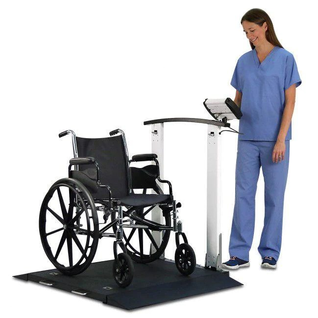 portable wheel chair pier one rattan chairs detecto 6560 wheelchair scale with handrail mfi demo
