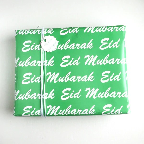 classic eid gift wrapping