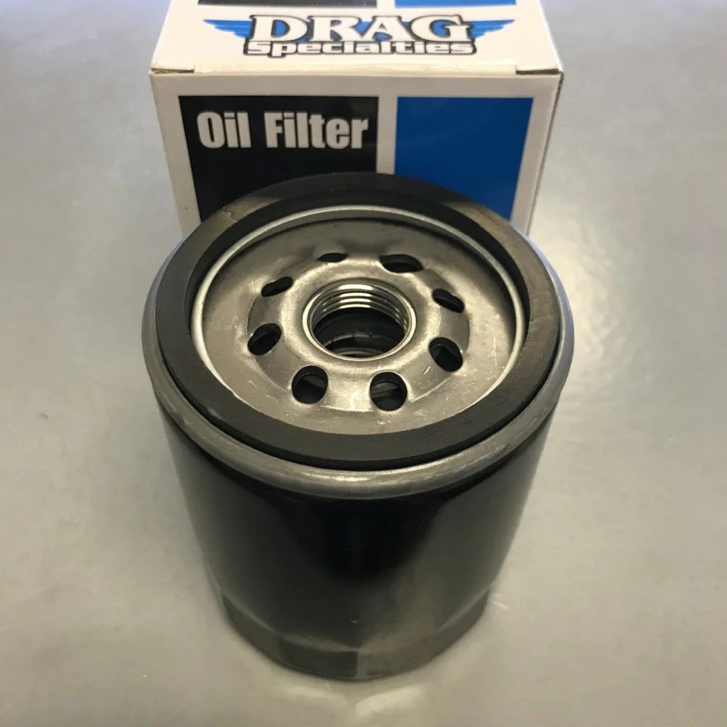 small resolution of drag specialties oil filter w nut harley davidson twin cam