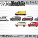 Custom Car Art T Shirt 1995 2005 Gmc Safari Gt 4 3 V6 Chevrolet Chevy Custom Car Arts