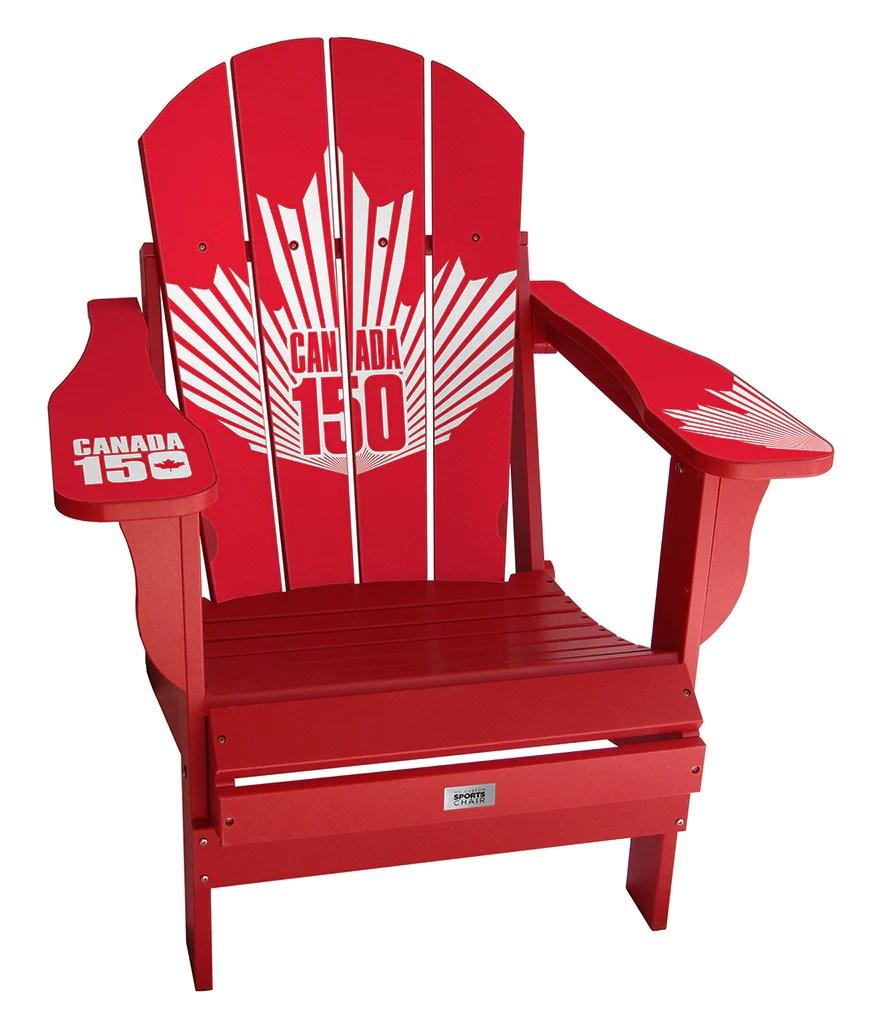 Red Adirondack Chairs Canada 150 Chair
