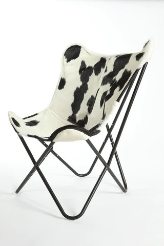 black and white cowhide chair foldable plans butterfly gaucho rugs