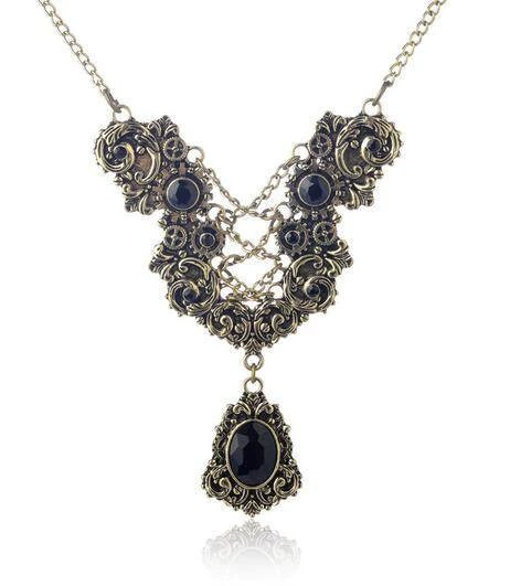 Victorian Era Inspired Vintage Necklace The Enchanted Forest
