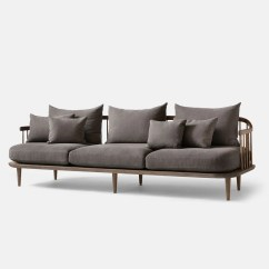 Sofa Bed Next Day Delivery London Slipcovered Sofas Fly 3 Seater Sc12 Brown Tradition Monologuelondon Com Monologue