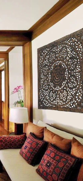 Best Asian Home Decor Selections Elegant Wood Carved Wall