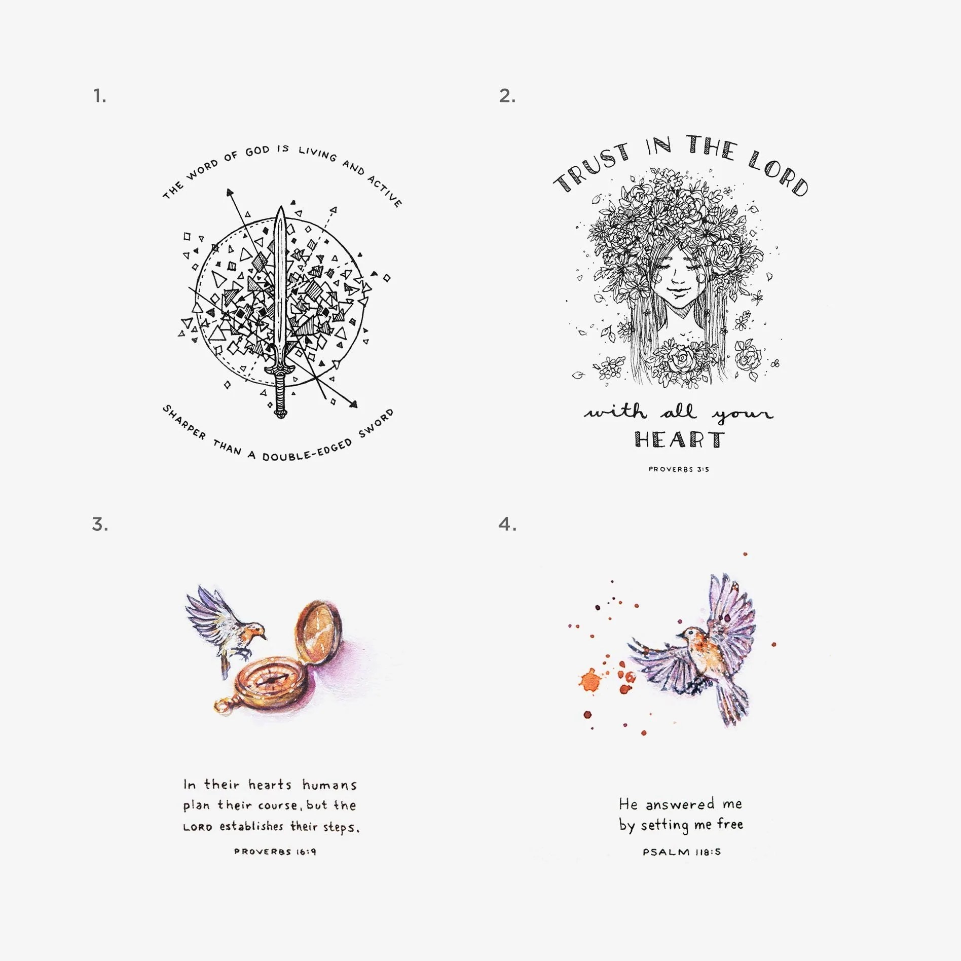 tiny verses 4x6 bundle pack  [ 1896 x 1896 Pixel ]