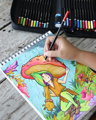 How To Color With Crayons : color, crayons, Blend, Shade, Colored, Pencils, Adult, Coloring, Books, ColorIt