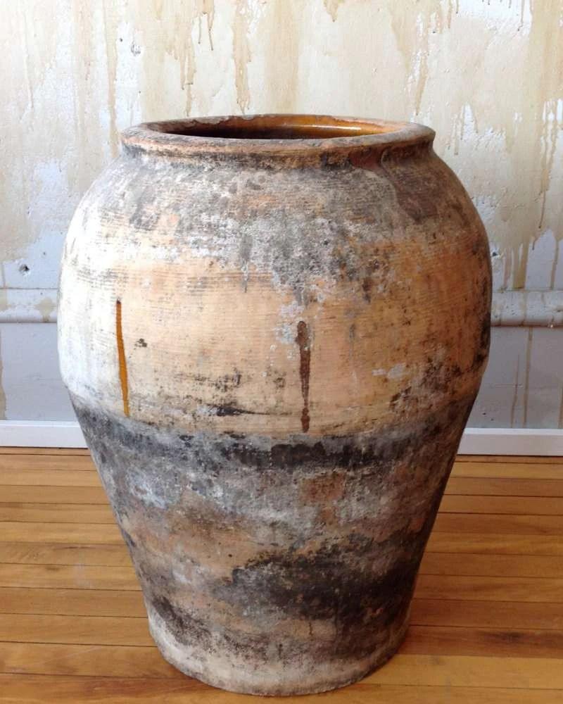 Rustic Spanish Antique Oil Jar 225SOLD