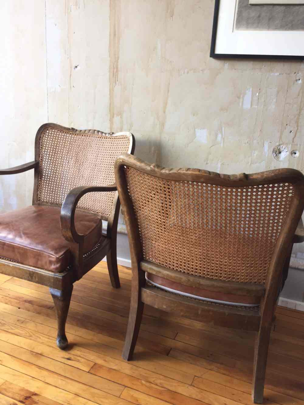 antique cane chairs childrens rocking vintage caned mercato antiques