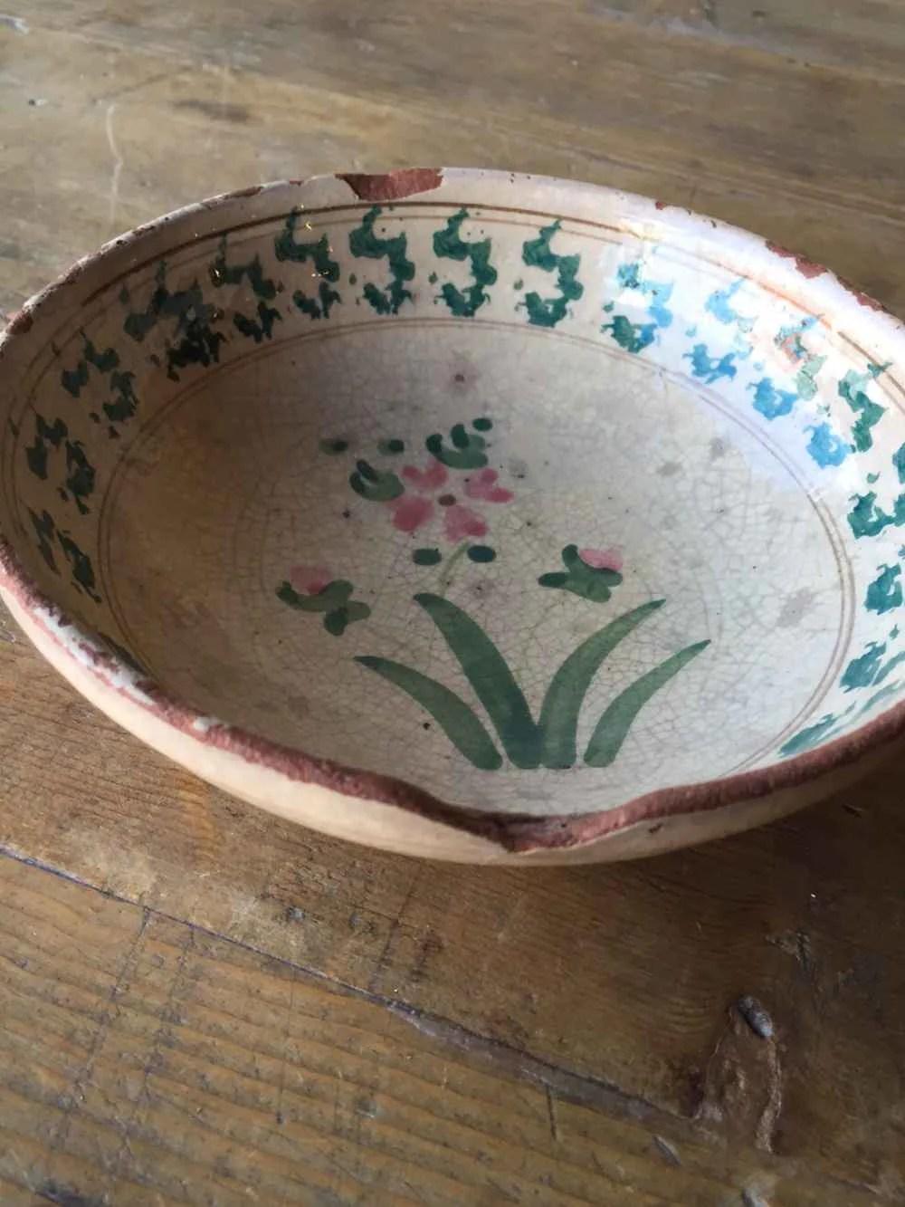 SOLD Italian Antique Bowl