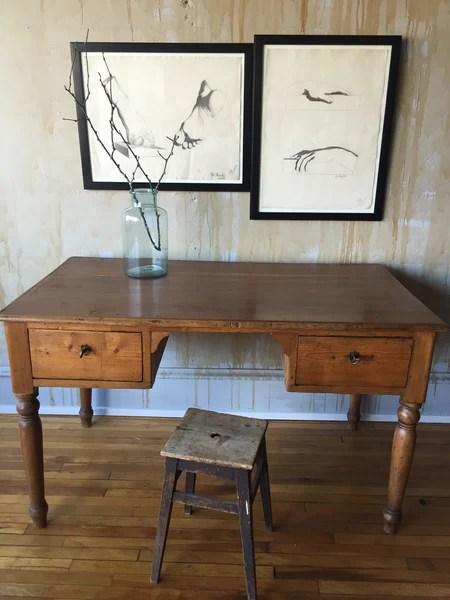 Tuscan Antique Desk Sold