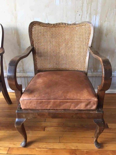 Vintage Caned Chairs   MERCATO Antiques