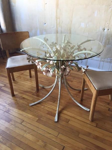 Italian VIntage Tole Table