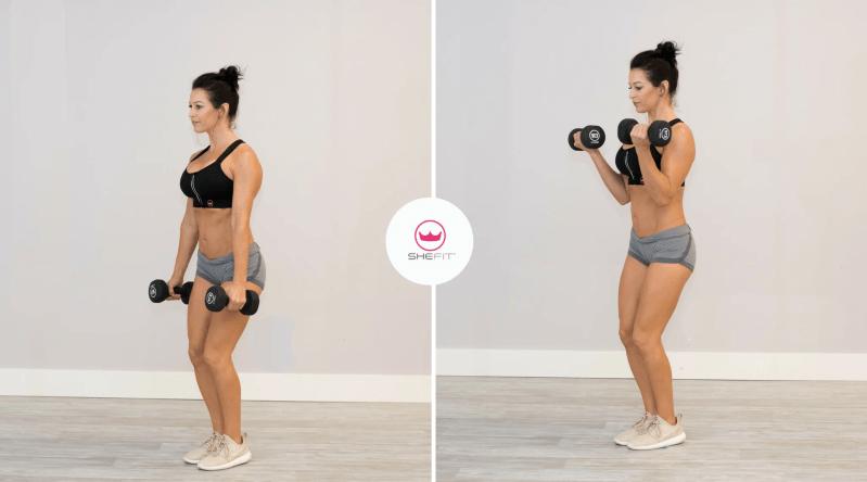 6 of the Best Upper Body Dumbbell Exercises for Women
