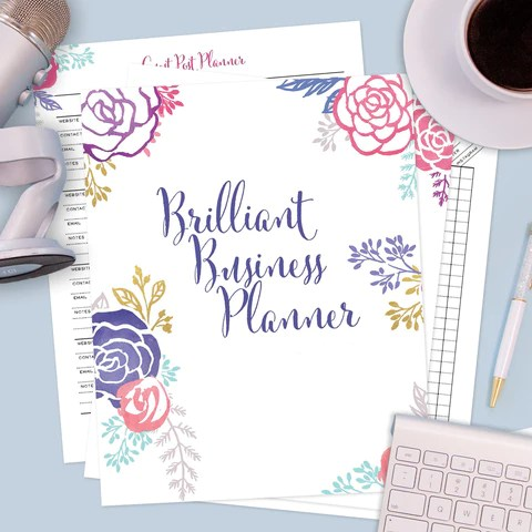 planners inspirational prints brilliant