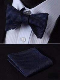 Blue Diamonds Bow Tie with Pocket Square   Beautiful ties ...