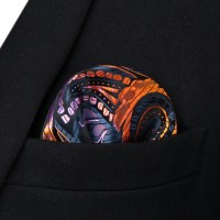 Summer Fires Bow Tie and Pocket Square