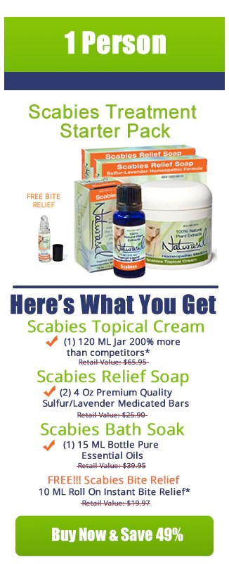 How To Get Rid Of Scabies Treating Scabies Naturasil