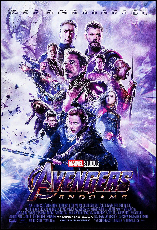 avengers endgame movie poster 1 sheet 27x41 original vintage movie poster