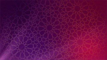 islamic pattern background animation