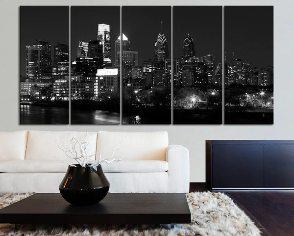 Canvas Kansas City Skyline