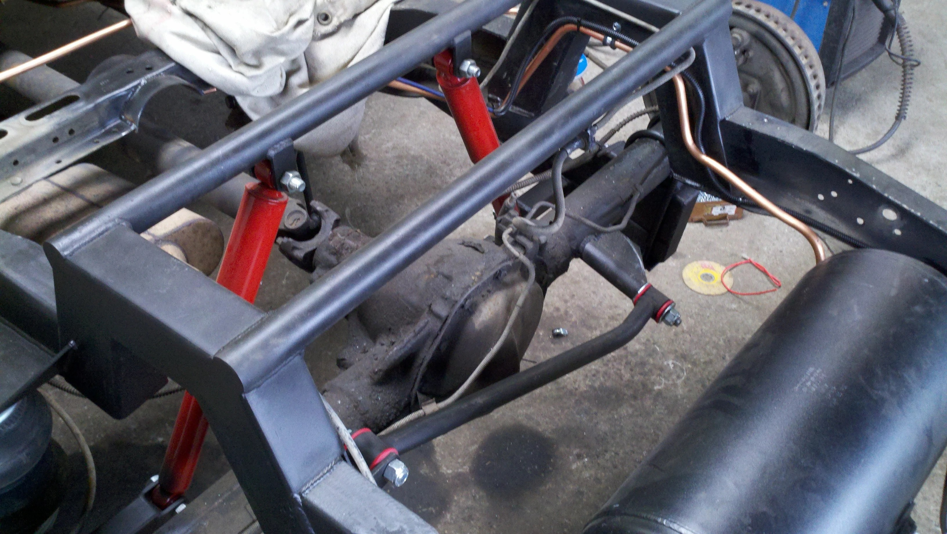 hight resolution of  73 87 chevy gm 1 2 ton rear air suspension kit