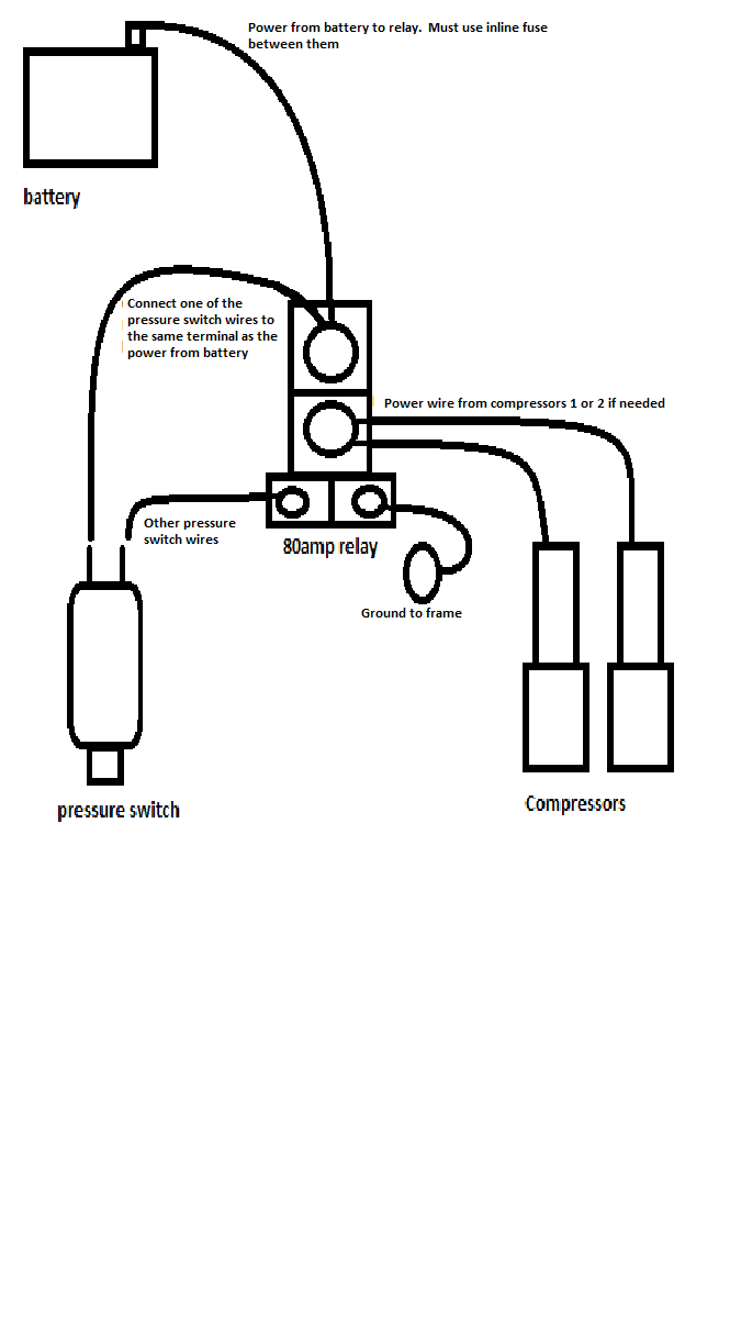 small resolution of 80 amp relay diagram