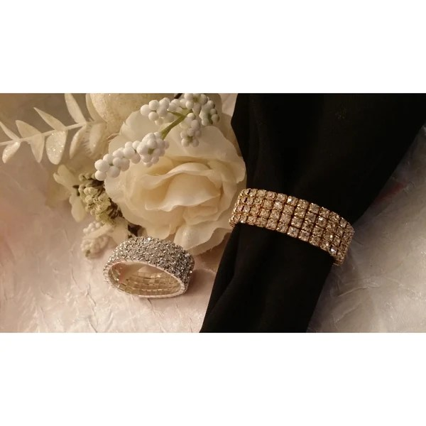Gold Napkin Ring Table Decorations Wedding Accessories