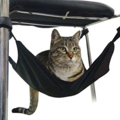 Under Chair Cat Hammock Black Tufted Dining Easy Style Smileypetoutlet