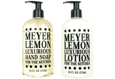 kitchen hand soap island prep table tagged liquid farm to market home meyer lemon lotion set