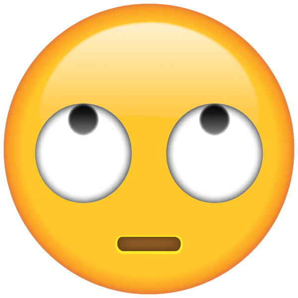 Download Face with Rolling Eyes Emoji  Emoji Island