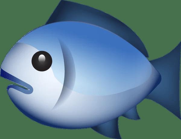 Download Fish Emoji Image in PNG  Emoji Island