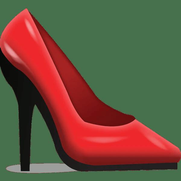 Image result for high heel emoji