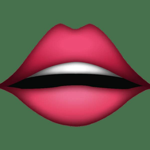 Download Lips Emoji Icon  Emoji Island