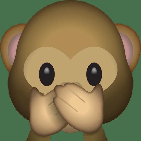 Download Speak No Evil Monkey Emoji  Emoji Island