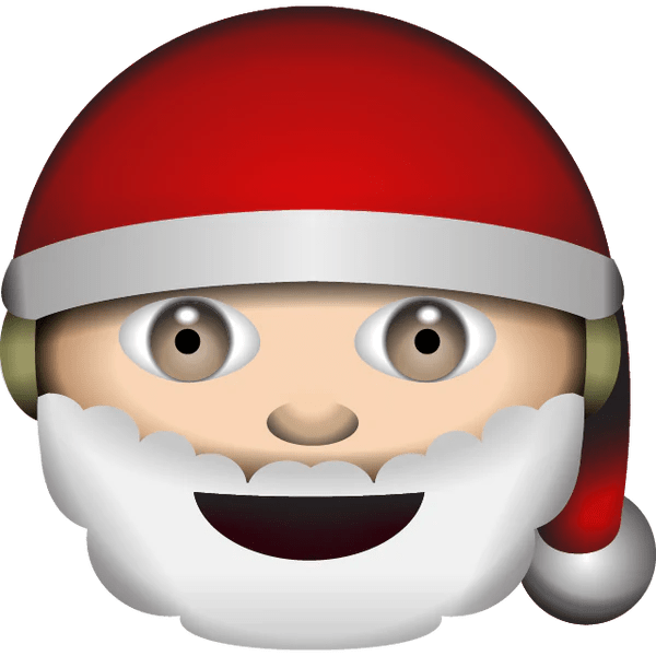 Download White Santa Claus Emoji  Emoji Island