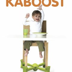 Kaboost Portable Chair Booster How To Make A Cover From Sheet Press Kit