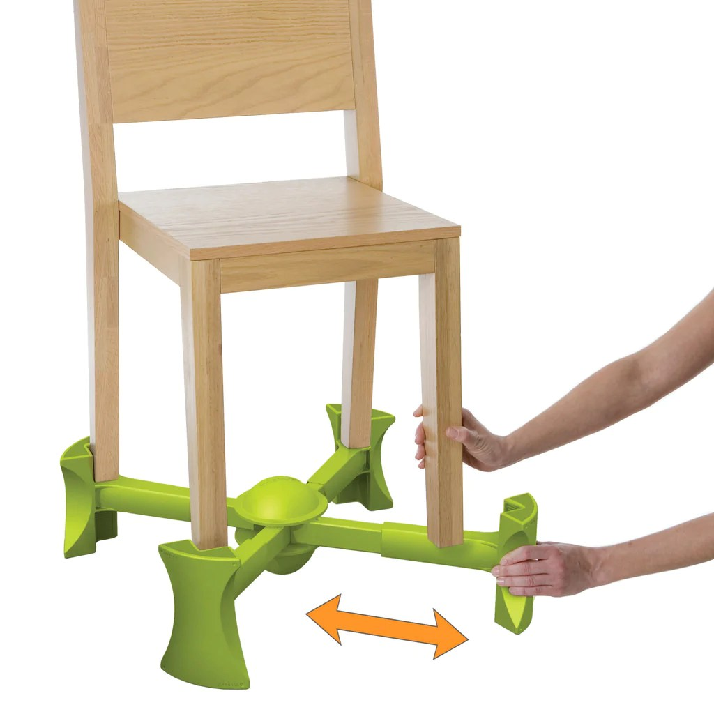 Chair Booster Kaboost Green Kaboost Booster Seat Goes Under The Chair