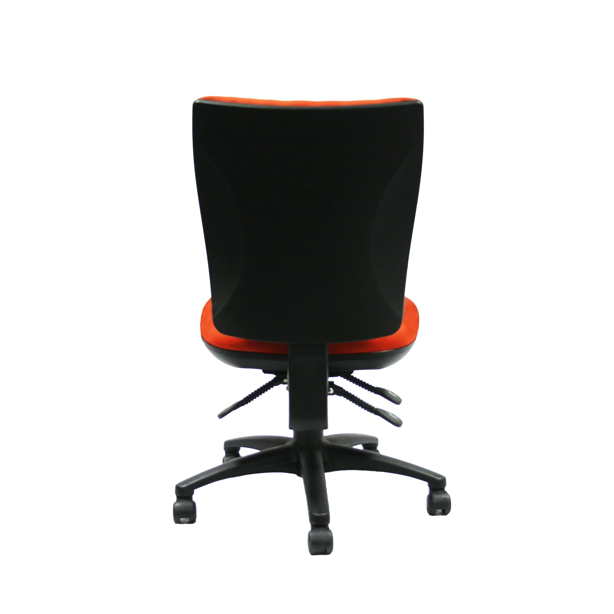 Orange Office Chairs Axiom Ergonomic Office Chair