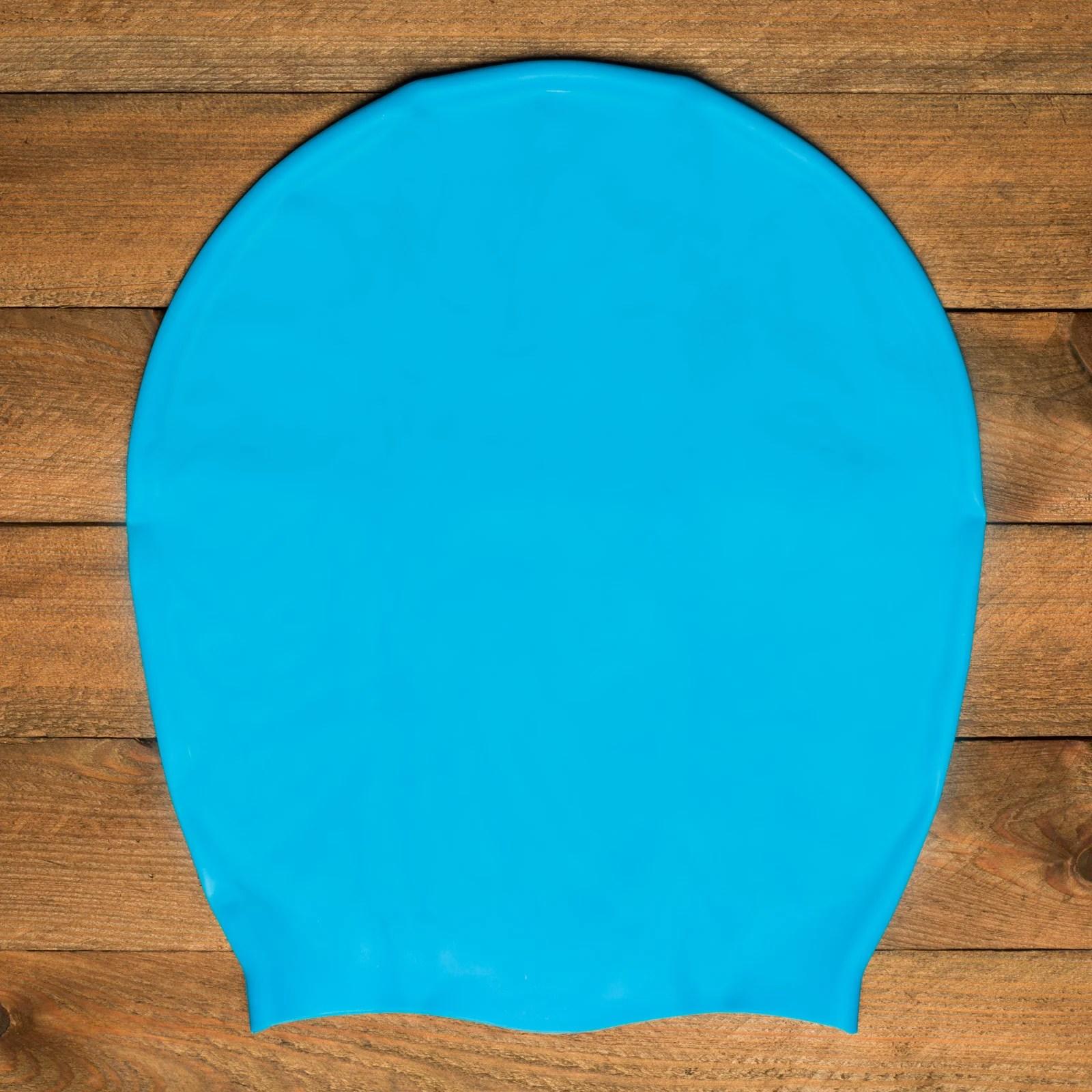 Extra Large Swim Cap Pacific Blue Dreadlocks Extensions