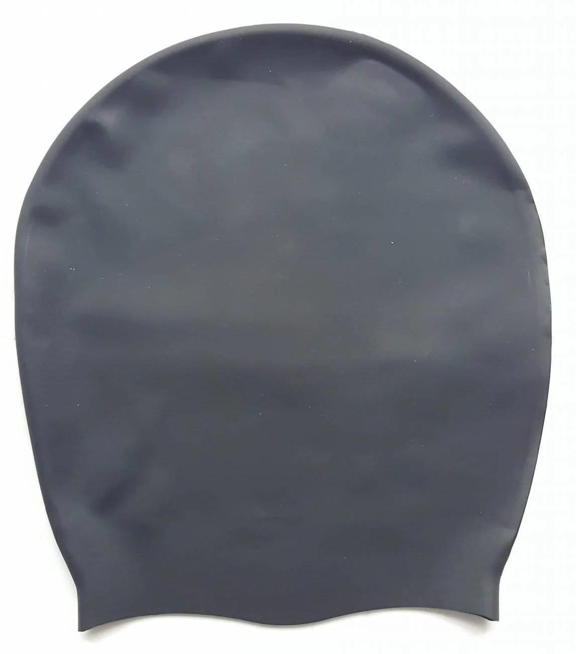 Dreadlab - Extra Large Swim Cap Plain Black Logo