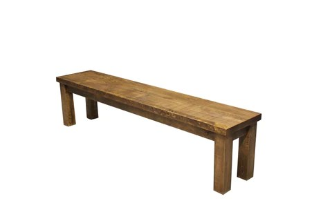 pine kitchen bench havertys island rough sawn dining rustic chic solid wood