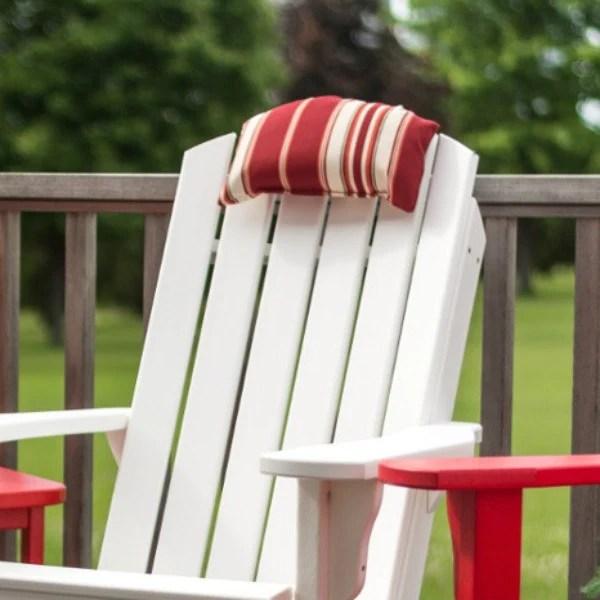 michigan adirondack chair small round kitchen table and chairs headrest cushion studio