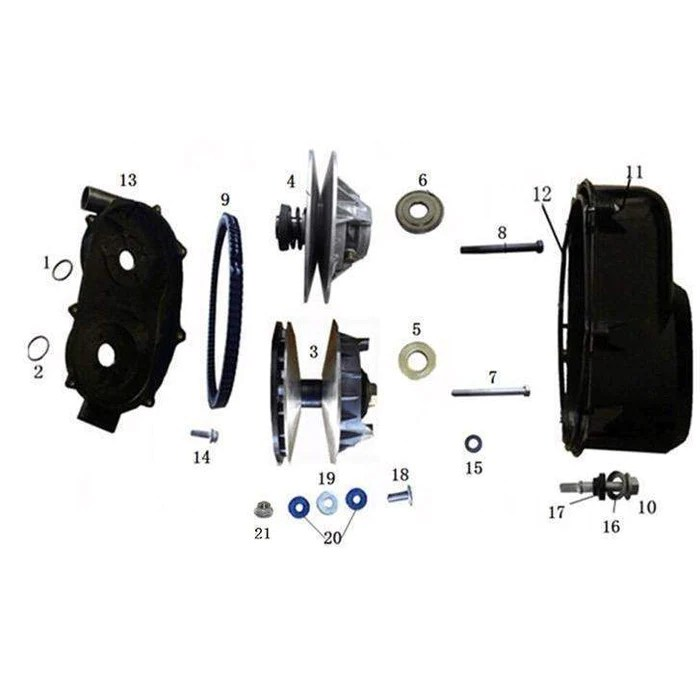 ODES 800cc Clutch | Scooter's Powersports