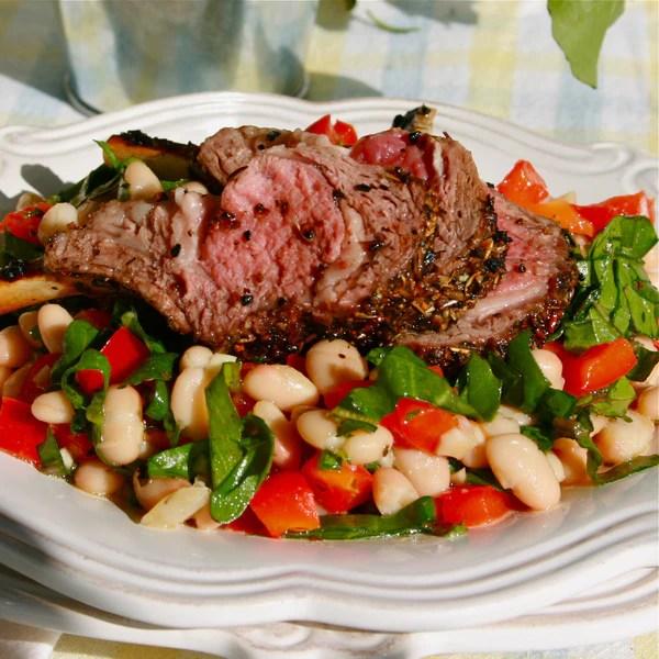 Grilled Rack Lamb Recipe