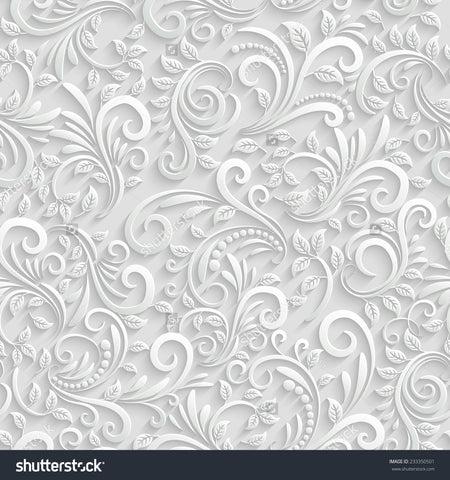 3d floral pattern print