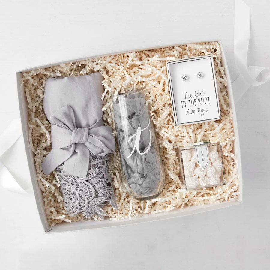Personalized Bridesmaid Gift Boxes Foxblossom Co