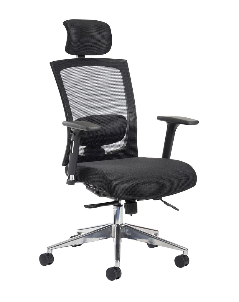 Task Chairs With Arms Gemini 300 Series Mesh Task Chair Choice Of Arms And Headrest