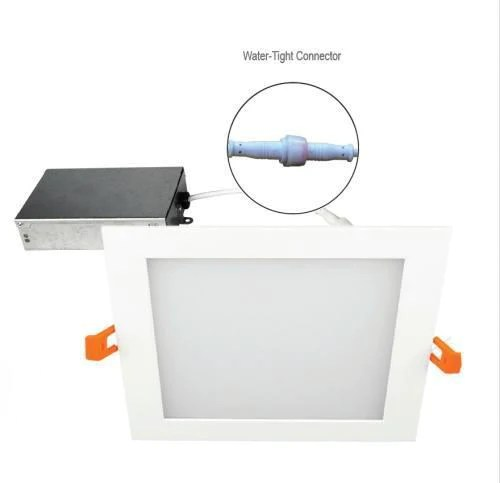 16w 6 inch dimmable square led panel light ultra thin led recessed cei ledquant